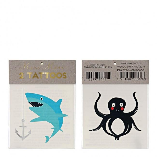 Meri Meri - Tetovaža morska stvorenja