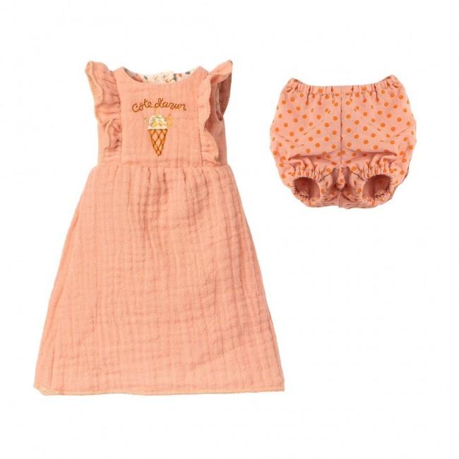 Maileg -  Zeka u roze haljini
