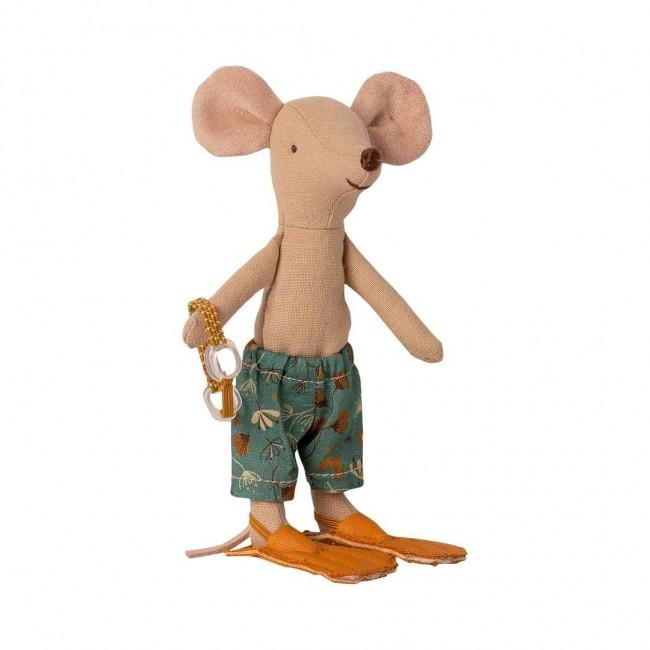 Maileg - Miš stariji brat na plaži