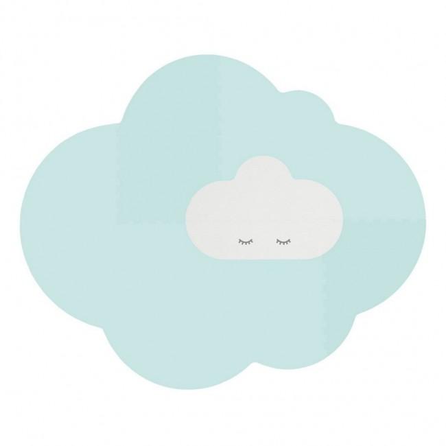 Quut - Playmat Head in the clouds - Mint, Large