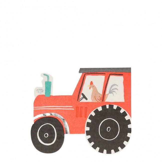 Meri Meri - Salvete traktor