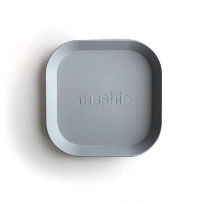 Mushie - Kvadratni tanjir cloud