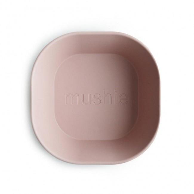 Mushie - Kvadratna činija blush