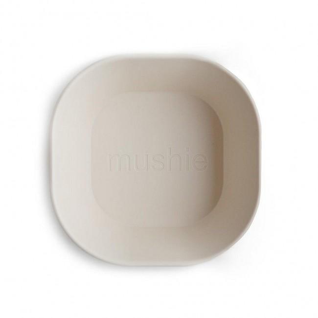 Mushie - Kvadratna činija ivory