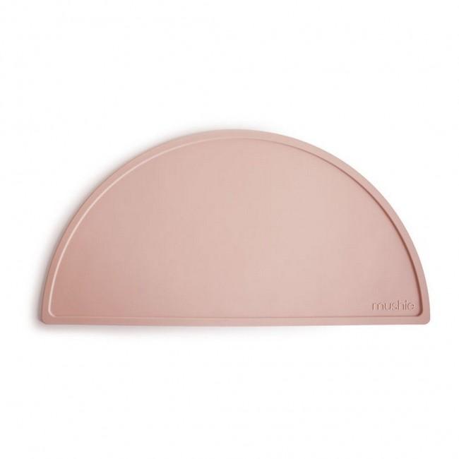 Mushie - Silikonska podloga za jelo blush