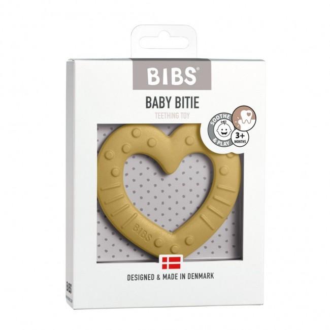 Bibs - Mustard hart glodalica