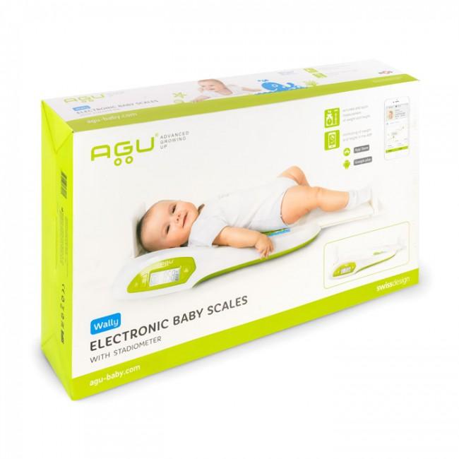 Agu - Digitalna vaga sa stadiometrom za bebe