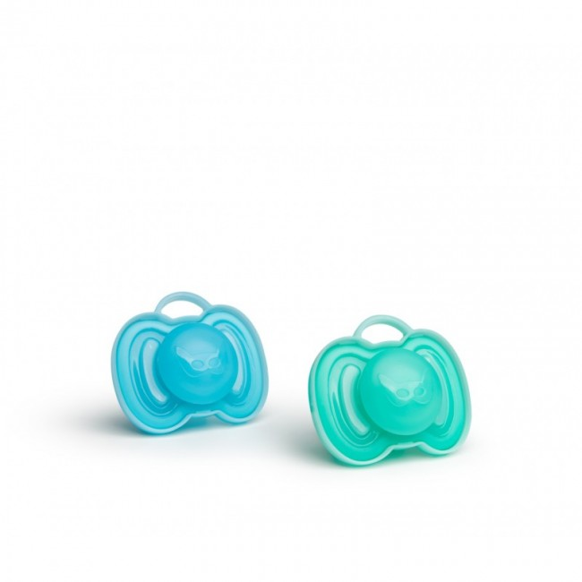 Herobility - HERO PACIFIER varalica 0m+ (2pack) blue/turquoise