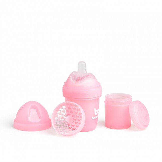 Herobility - HERO BOTTLE flašica 140ml/5oz pink