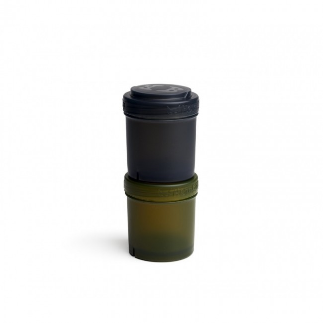 Herobility - HERO STORAGE kutijica za čuvanje 100ml/3,5oz (2pack) black/army green