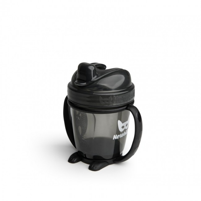 Herobility - HERO SIPPY bočica sa drškom 140ml/5oz  black