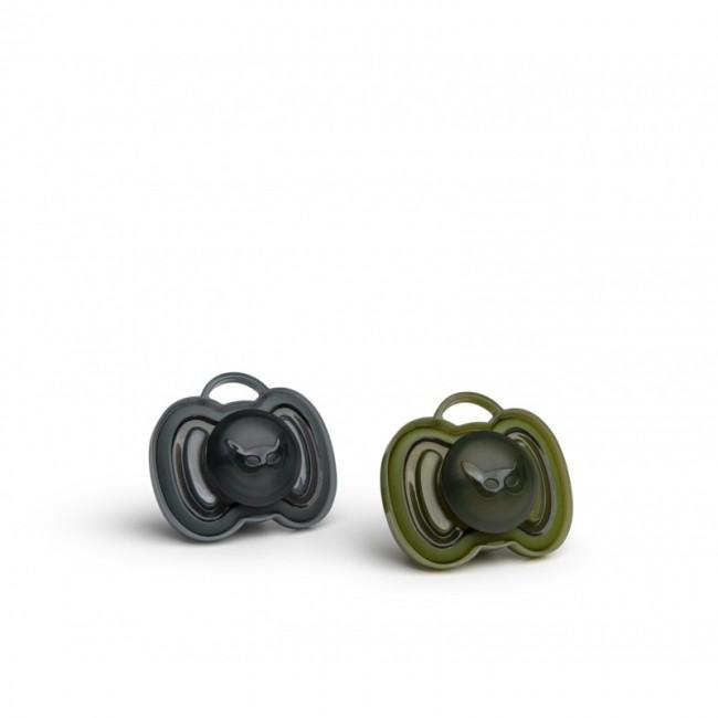 Herobility - HERO PACIFIER varalica 0m+ (2 pack) black/green