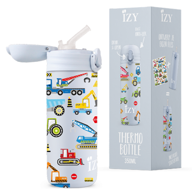 Izy bottles - IZY KIDS - 350 ml - Blue Machines