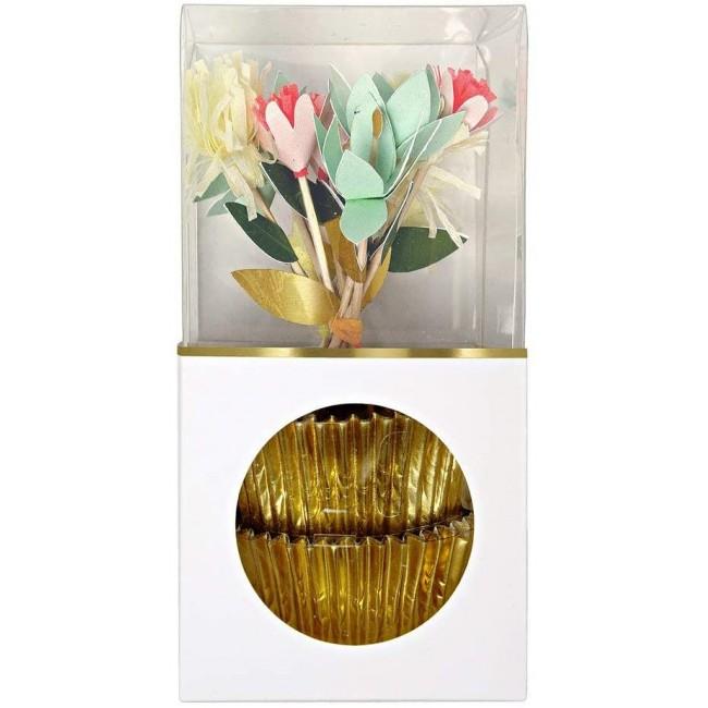 Meri Meri - Komplet za kapkejk cveće