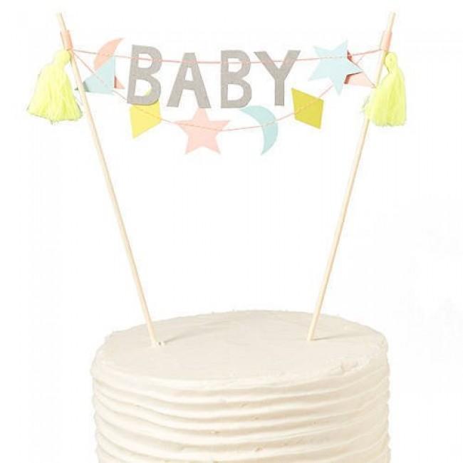 Meri Meri - Toper za tortu baby