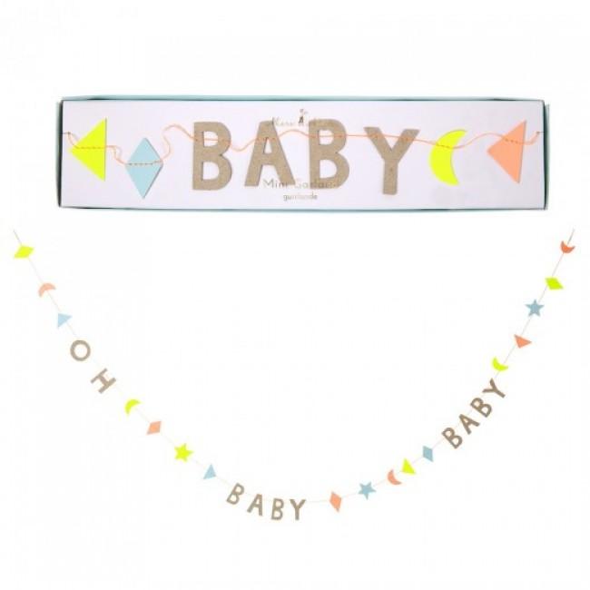 Meri Meri - Garland Oh baby baby