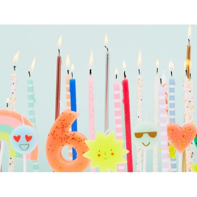 Meri Meri - Svećica za tortu broj 6