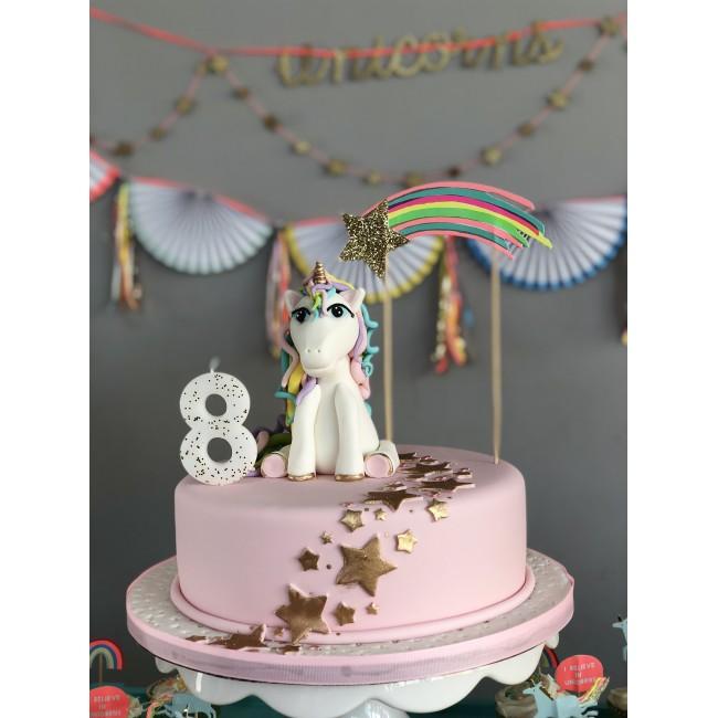 Meri Meri - Svećica za tortu broj 8