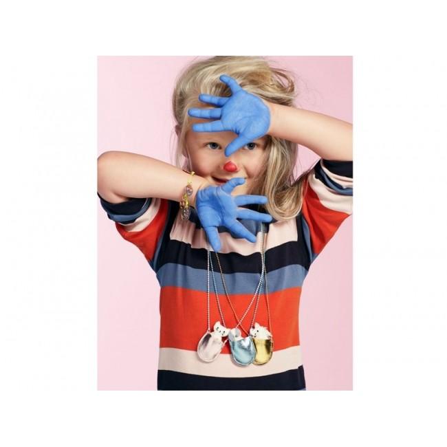 Meri Meri - Ogrlica kuca u plavoj torbici