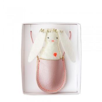 Meri Meri - Ogrlica zeka u roze tobri