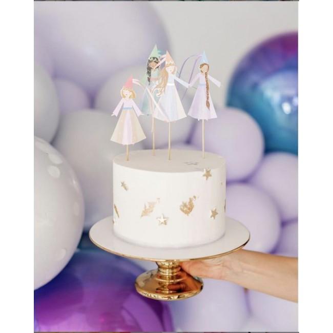 Meri Meri - Toperi za tortu princeze