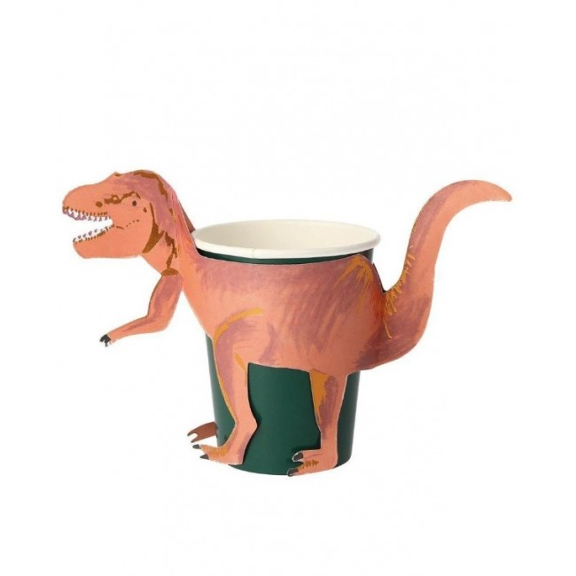 Meri Meri - Čaše dinosaurus T-rex