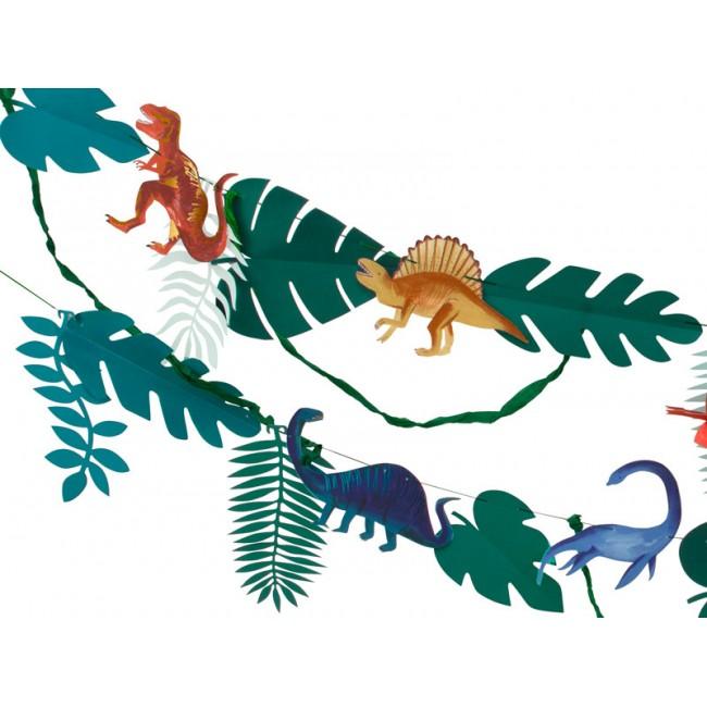 Meri Meri - Garland dinosaurusi