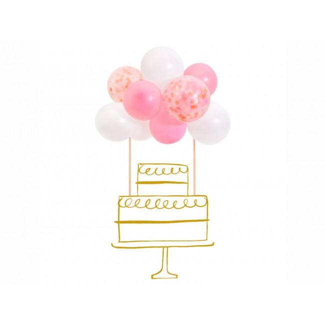 Meri Meri - Toper za tortu baloni