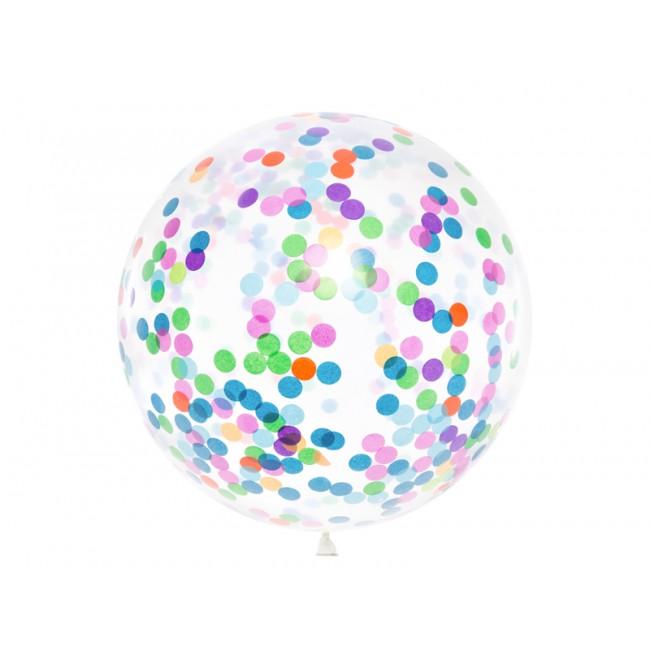 Party Deco - Balon sa konfetama