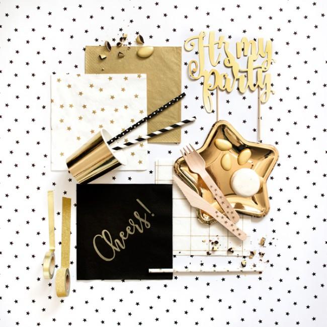 Party Deco - Salvete zvezde, zlatne