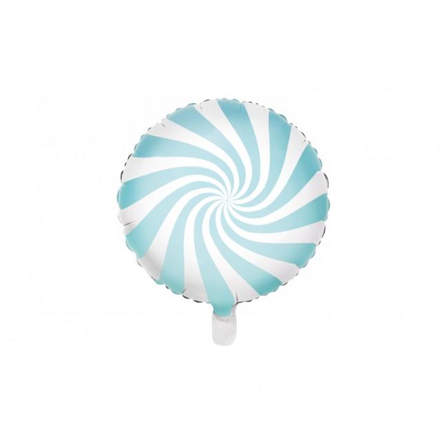 Party Deco - Balon Candy plavi