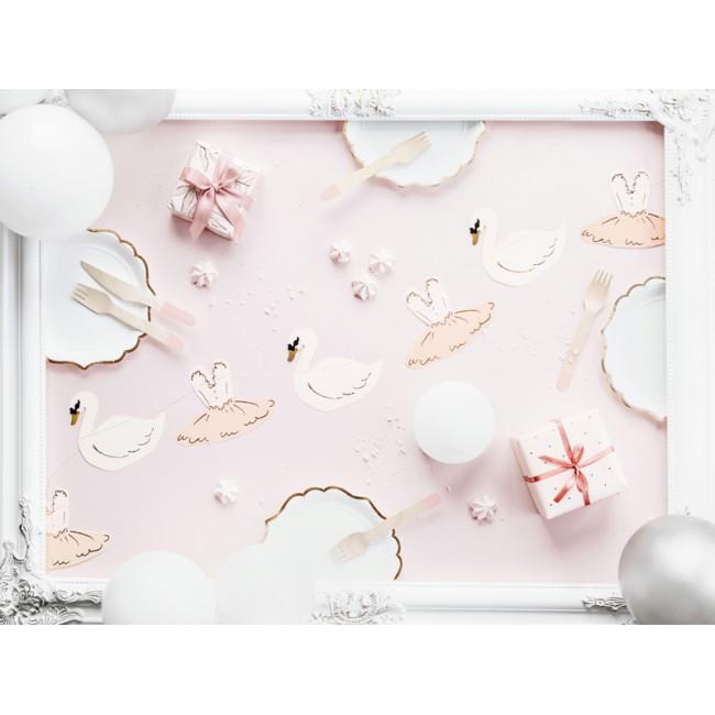 Party Deco - Garland balerina Labudovo jezero