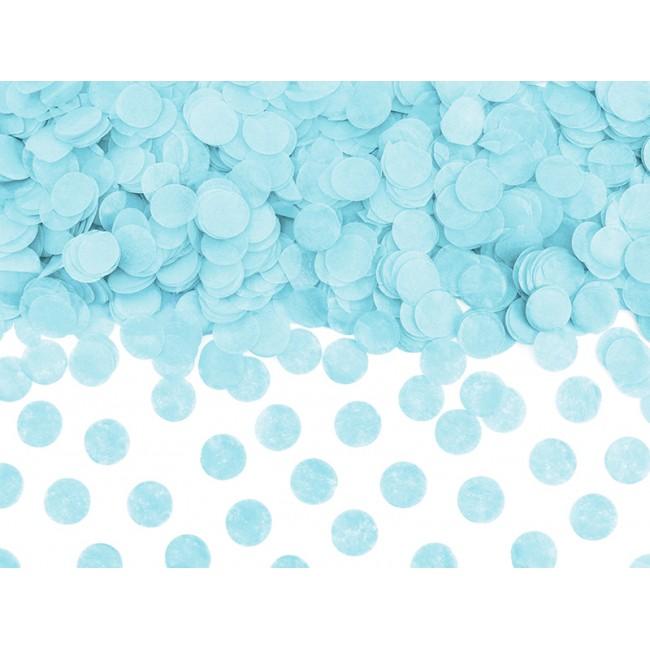 Party Deco - Konfete svetlo plave