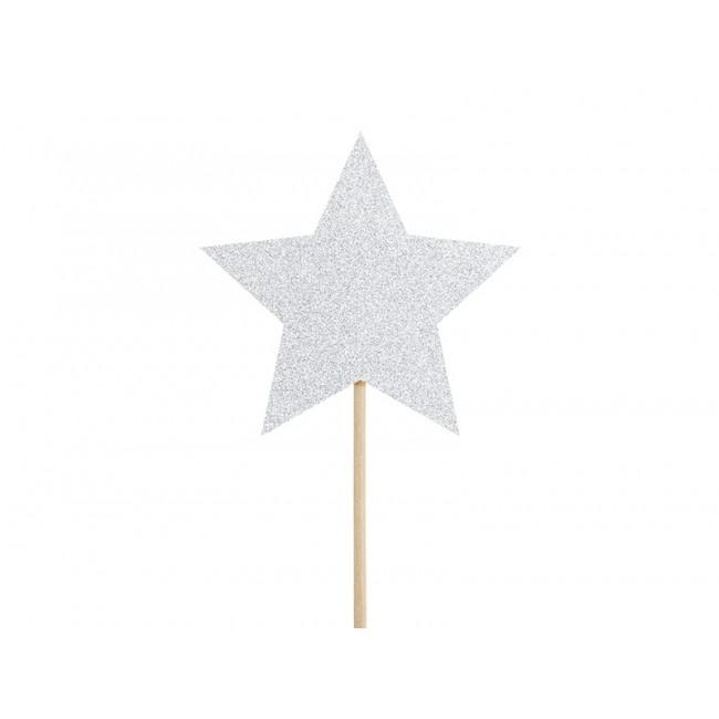 Party Deco - Toperi za kapkejk jednorog, zvezdice