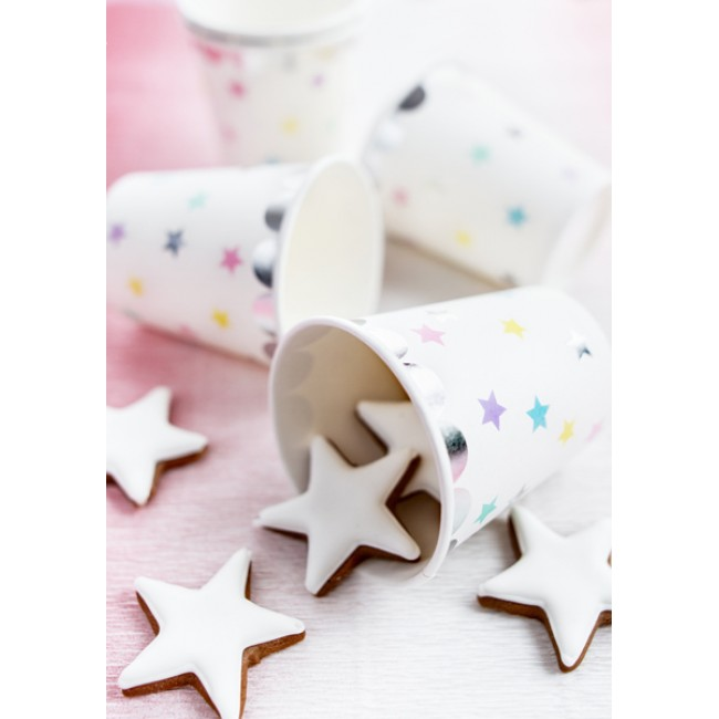 Party Deco - Čaše jednorozi zvezdice