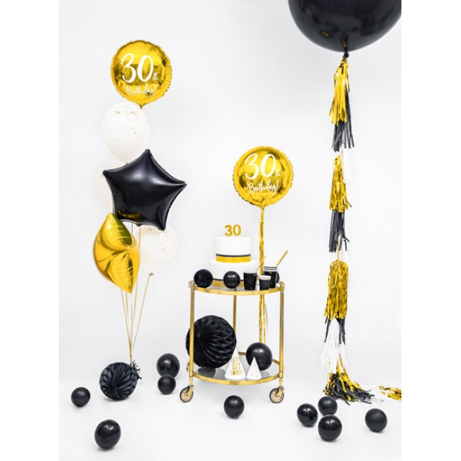 Party Deco - Balon crni