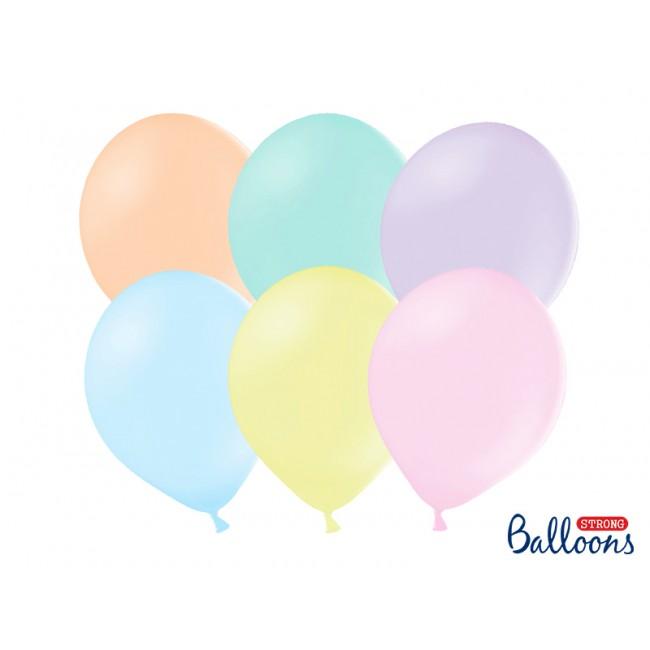 Party Deco - Baloni pastelni miks