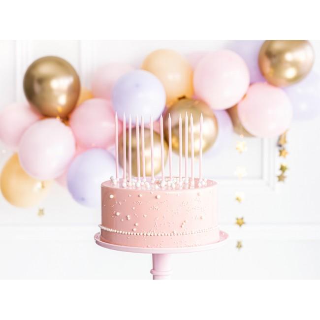 Party Deco - Svećice svetlo roze