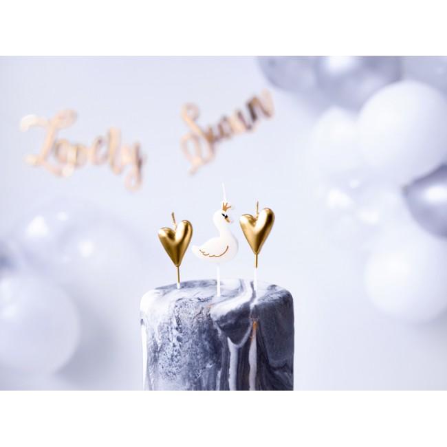 Party Deco - Svećice labud i srce