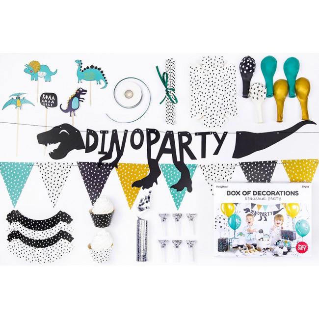 Party Deco - Set za dekoraciju Dinosaurus
