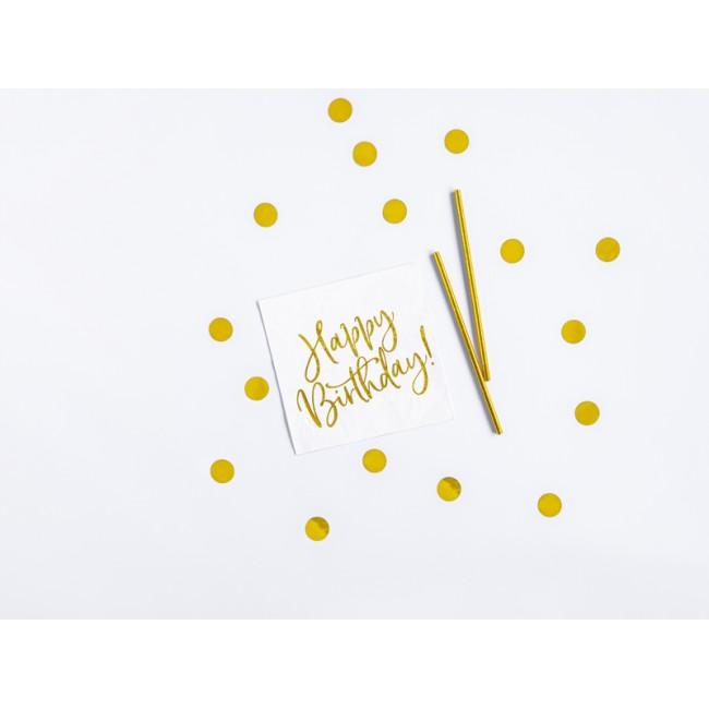 Party Deco - Rođendanska dekoracija, zlatna