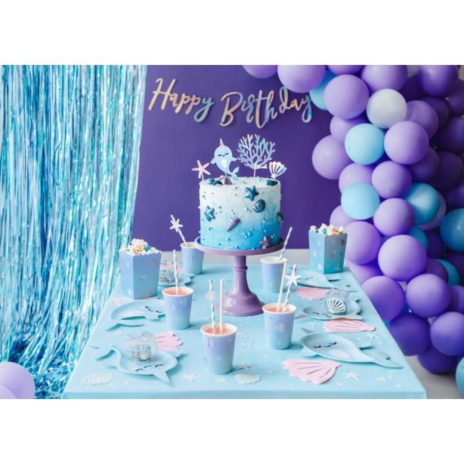 Party Deco - Slamčice plave