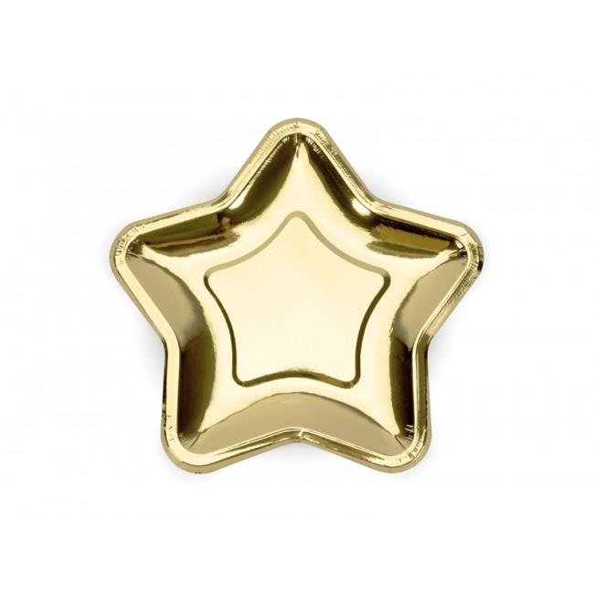 Party Deco - Tanjiri zvezda, zlatni