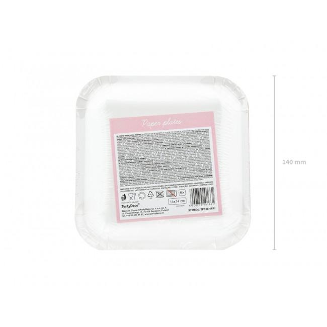 Party Deco - Tanjiri Happy Birthday svetlo roze