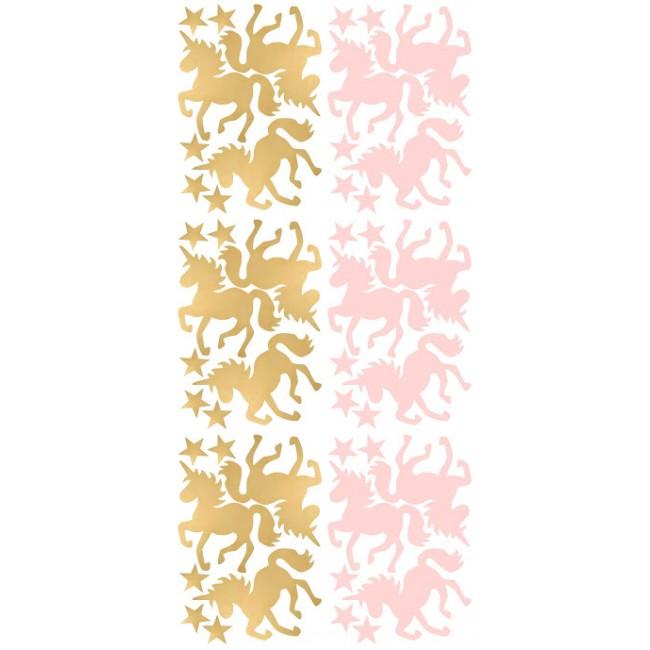 Pom - Roze i zlatni jednorozi