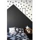 Pom - Crne kapljice stikeri za zid