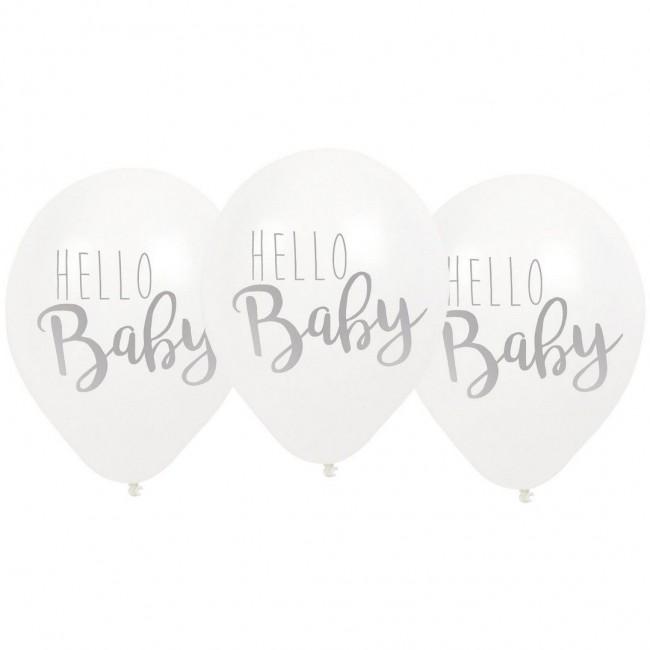 Jabadabado - Baloni Hello baby sivi