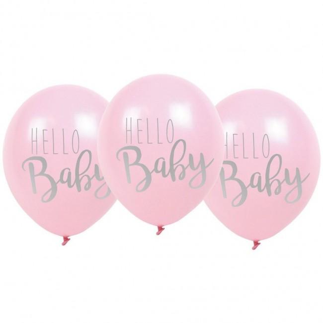 Jabadabado - Baloni Hello baby roze