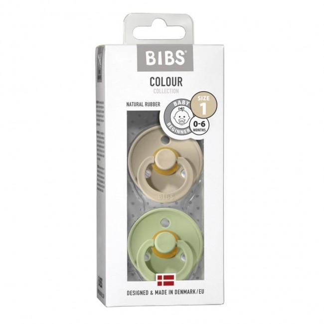 Bibs - Sand & Pistachio dude