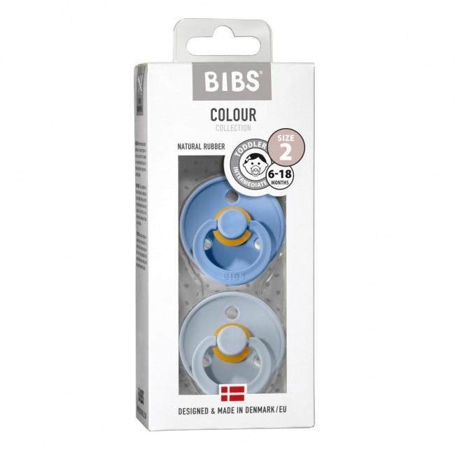 BIBS - Sky blue & Baby blue dude
